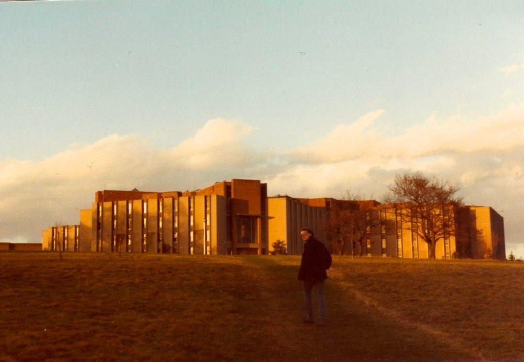 Eliot College at Sunset
